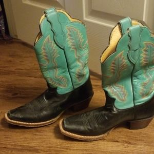 Justin's boots size 9 womens